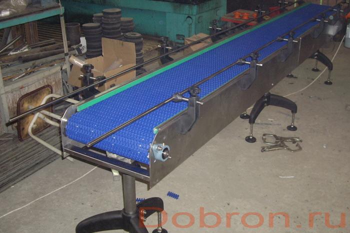 Цепные транспортеры пластинчатые конвейер лт 1000